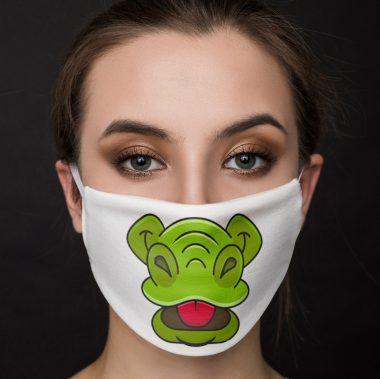 Alligator Mouth Face Mask