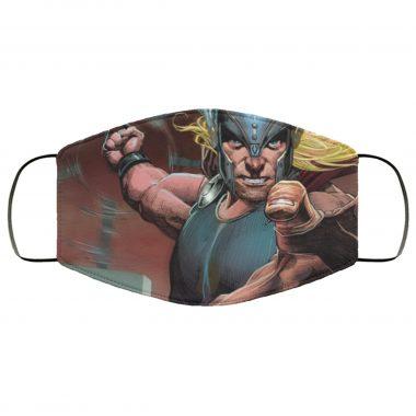 Thor v1 Marvel Comics Superhero Thor God of Thunder Thor Face Mask