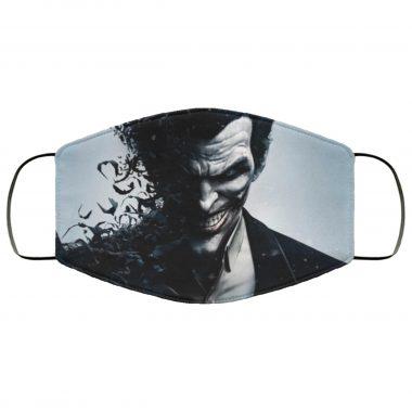 The Joker and Bats Batman DC Comics Superhero Villain Face Mask