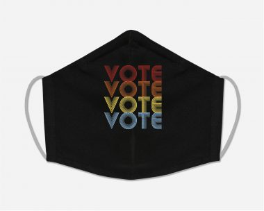 Vote Out Trump Election face mask