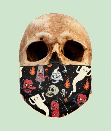 Japanese Ghosts - Obake Youkai Face Mask