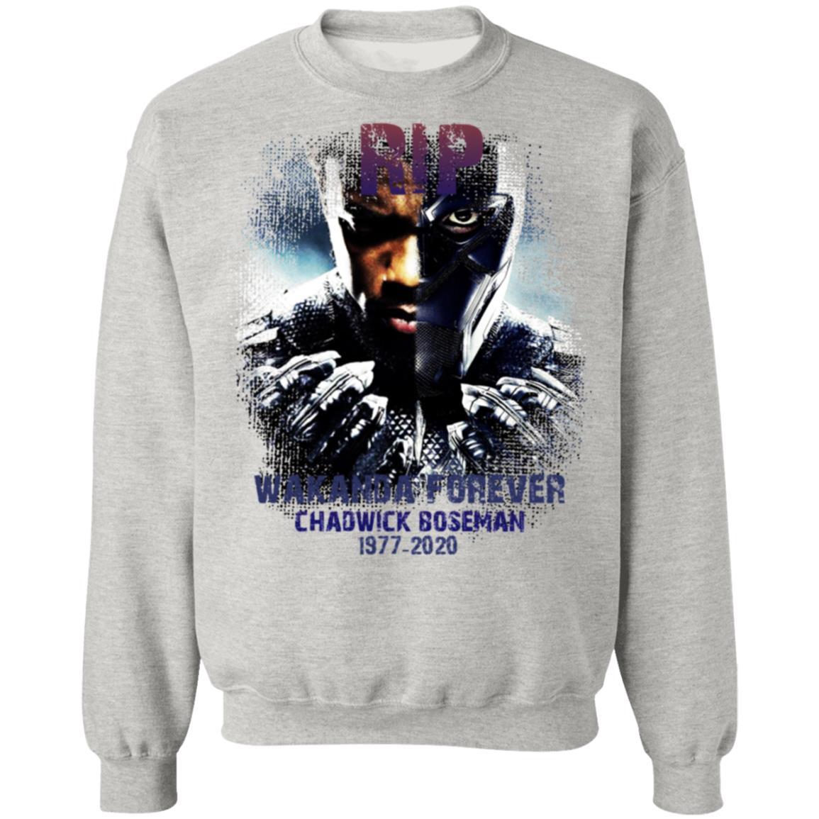 Chadwick Boseman Legends never die RIP Black Panther tee