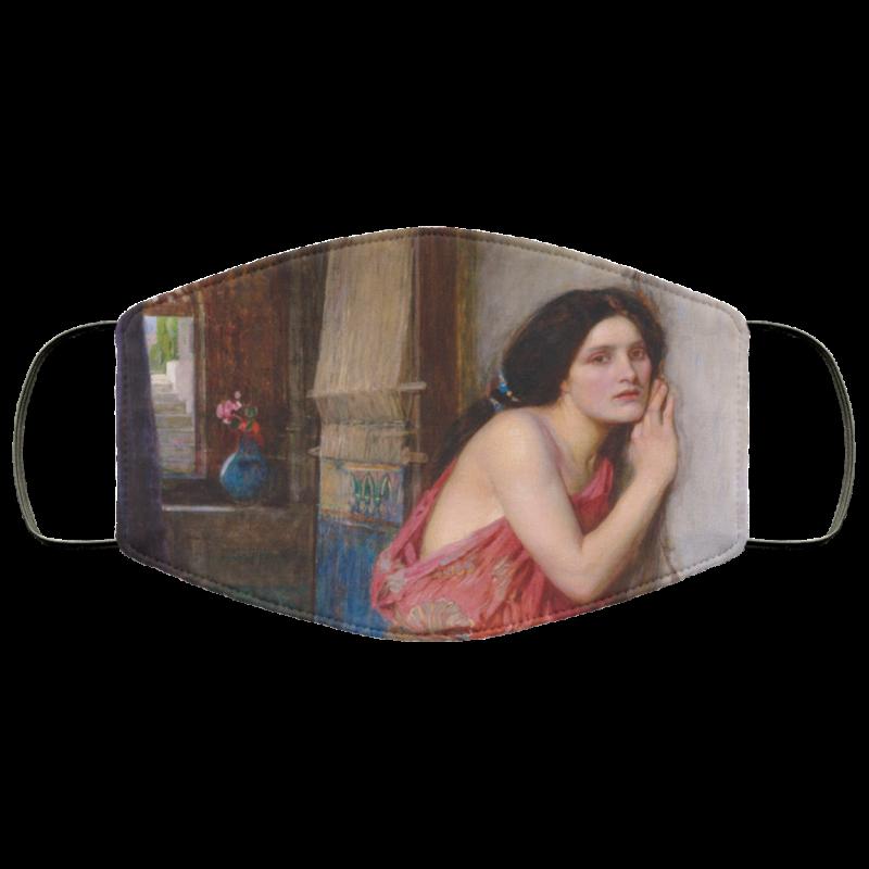 Ra Thisbe - John William Waterhouse face mask washable