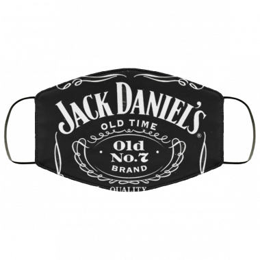 Jack Daniel's Face Mask Antibacterial Fabric