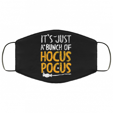 It's just a punch of hocus pocus Face Mask washable, reusable
