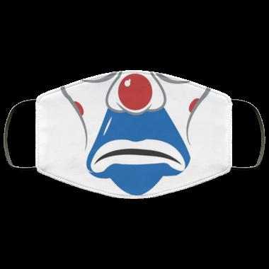 Bankrobber Joker villan Clown Face Mask washable, reusable