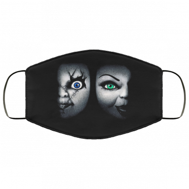 Bride of Chucky Face Mask washable, reusable