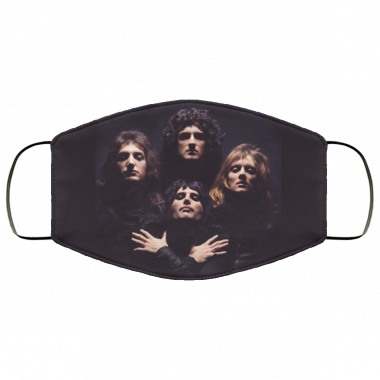 Queen Band Cloth Face Mask
