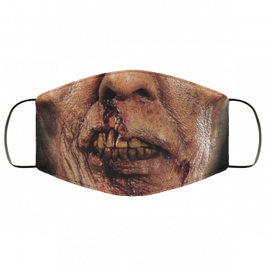 ZOMBIE MOUTH FACEMASK Face Mask