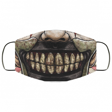 Twisted Freak Show Clown Face Mask