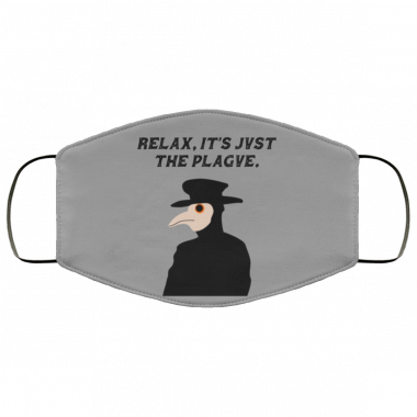 Casual Plague Doctor Face Mask Washable, Reusable