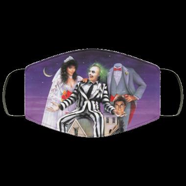 Beetlejuice 1980s Horror Movies Winona Ryder Tim Burton Creepy Face Mask