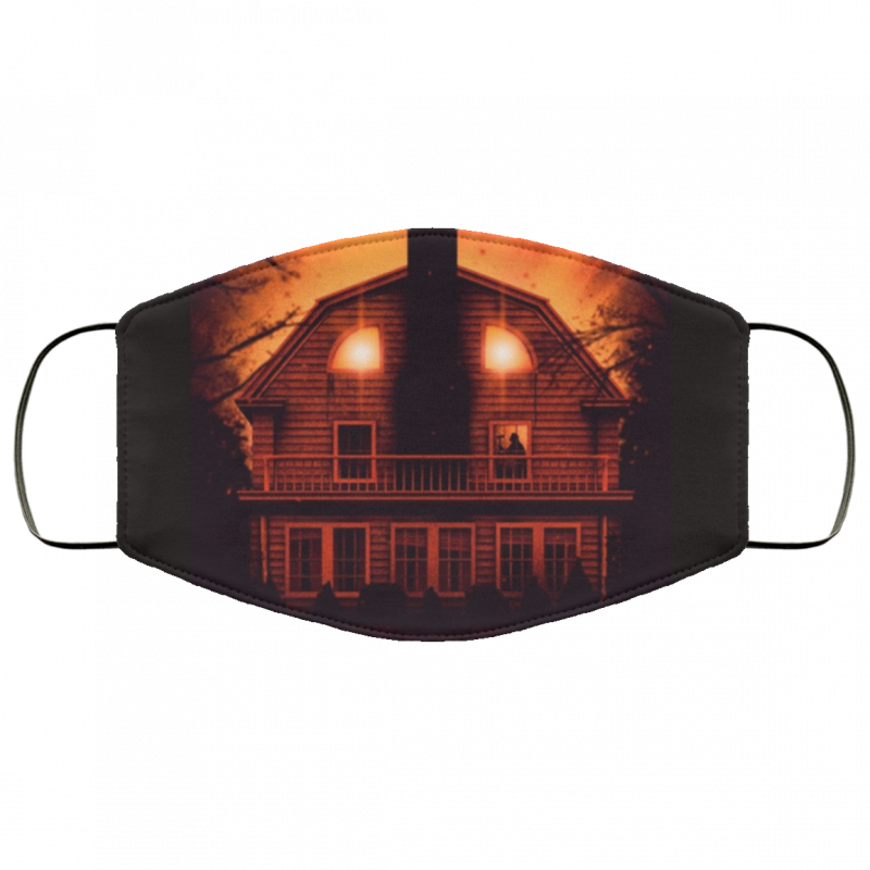 Amityville Horror Face Mask Washable, Reusable