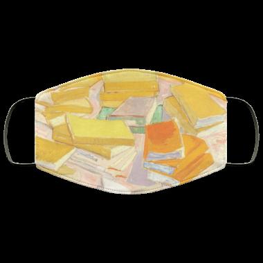 Vincent Van Gogh - Piles of French Novels face mask washable