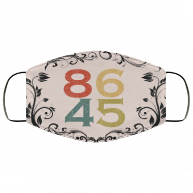 8645 Election Vote 2020 Cloth face mask