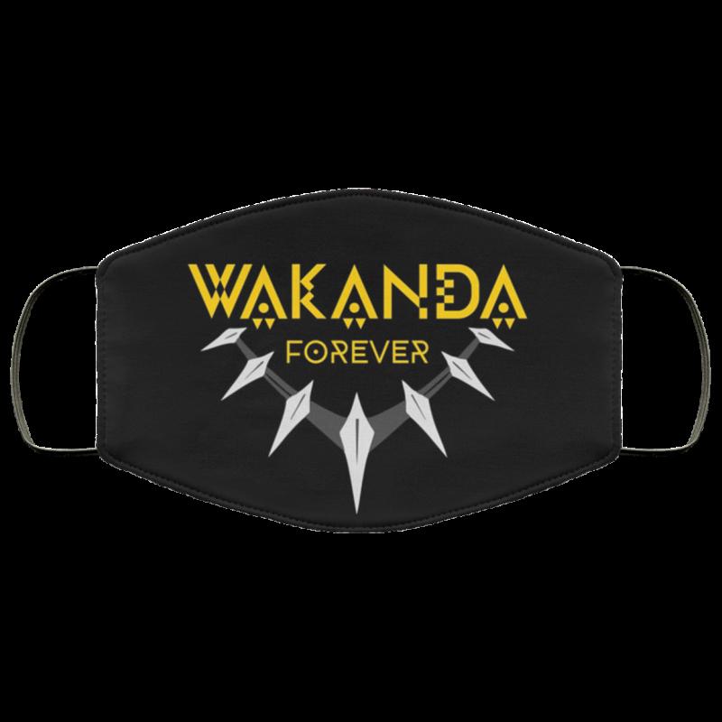 Wakanda Forever - Wakanda Salute - Wakanda Tributes - Wakanda African face mask