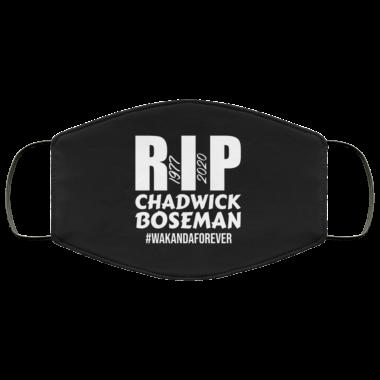 Rip Chadwik Boseman, Wakanda Forever, 1977 2020 face mask