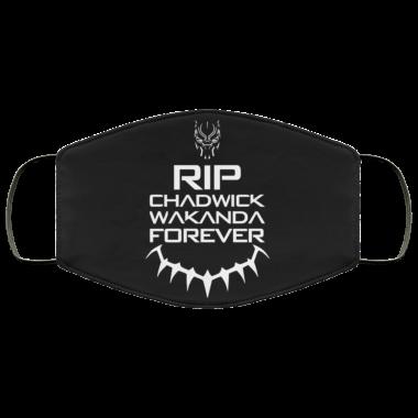 RIP Chadwick Boseman face mask