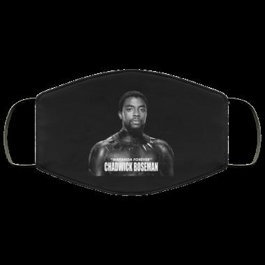 Chadwick Boseman Wakanda Forever face mask