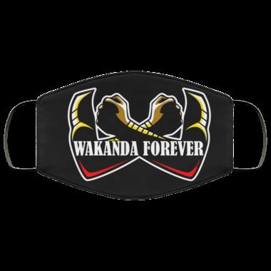 Wakanda Forever Black Panther Face Mask