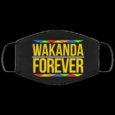Wakanda Forever Face Mask washable reusable