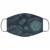 Van Gogh - Starry Night at Midnight face mask washable