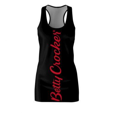 Betty Crocker Dress Women's Cut And Sew Racerback
