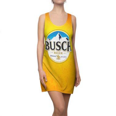 Busch Beer Dress Women's Cut And Sew Racerback
