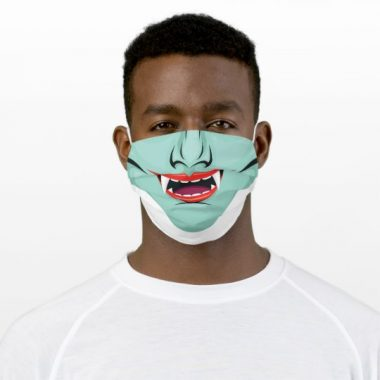Vampire Open mouth with teeth Cloth Face Mask