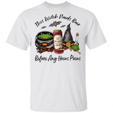 Yuengling Can This Witch Needs Beer Before Any Hocus Pocus Shirt