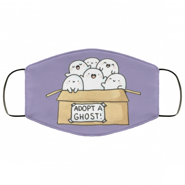 Adopt a ghost Face Mask