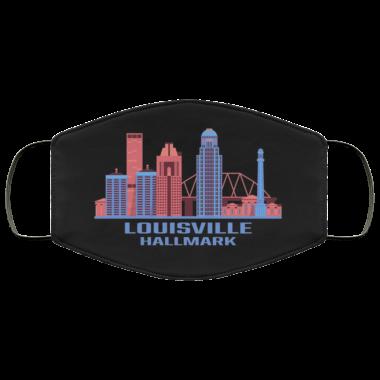 Louisville Hallmark Kentucky State Skyline Face Mask