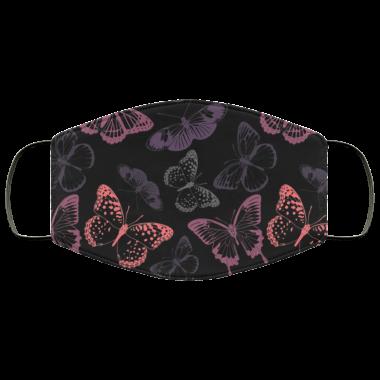 Butterfly Butterflies pattern Face Mask