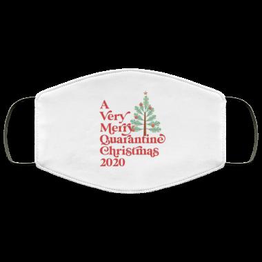 A Very Merry Quarantine Christmas 2020 Face Mask