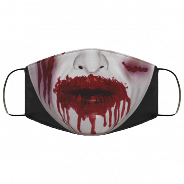 Zombie Bloody Mouth Mask Halloween Face Mask