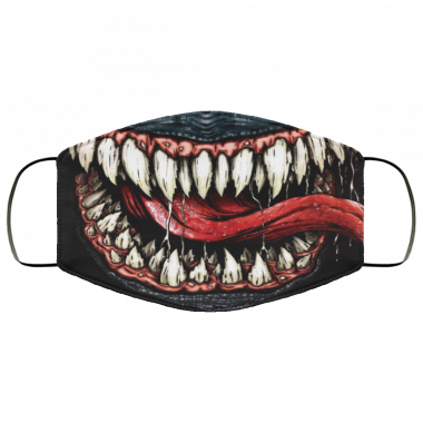 Venom Mask Halloween Face Mask