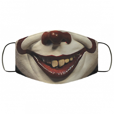 Pennywise Mask Halloween Face Mask