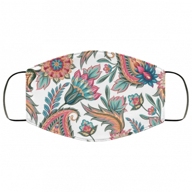 Awesome Seamless paisley pattern Face Mask
