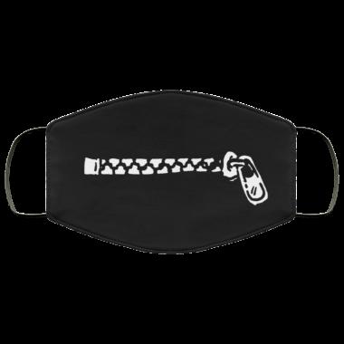 Zipper Mouth Face Mask
