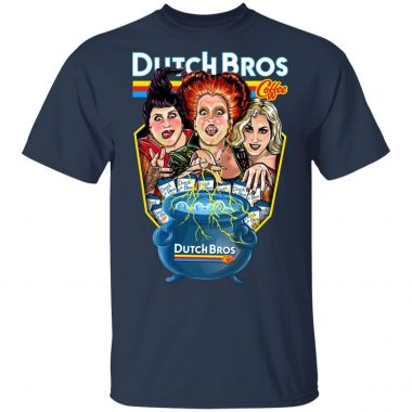 Hocus Pocus Dutch Bros Coffee Halloween T-Shirt