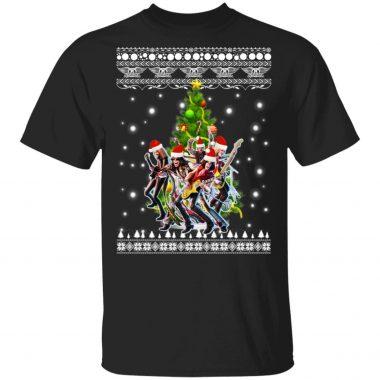 Aerosmith Christmas Tree Ugly Christmas Sweater, Shirt, hoodie