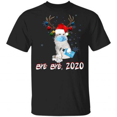 American Curl Cat Bye Bye 2020 Christmas T-Shirt, sweatshirt