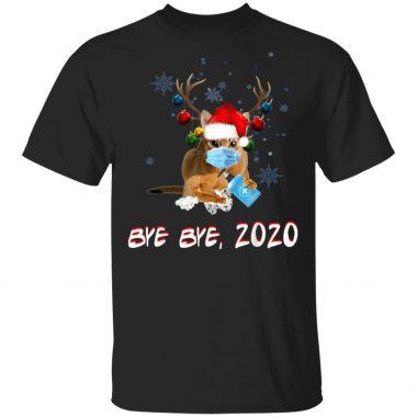 Abyssinian Cat Bye Bye 2020 Christmas T-Shirt, sweatshirt