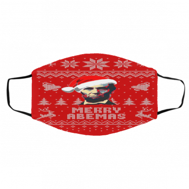 Abraham Lincoln Merry Abemas face mask
