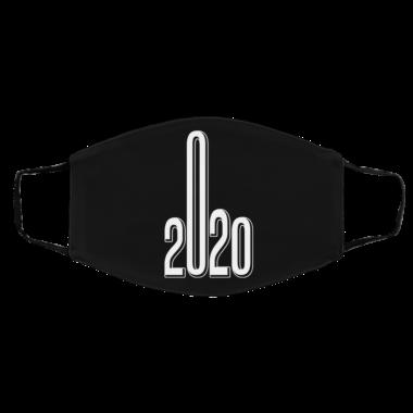 2020 Sucks Face Mask Middle Finger Quarantine Social Distancing Face Mask