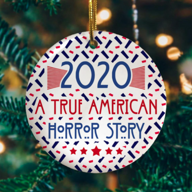 2020 A True American-Horror Story Christmas Ornament