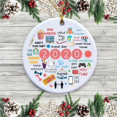 2020 Annual Events Christmas Circle Ornament