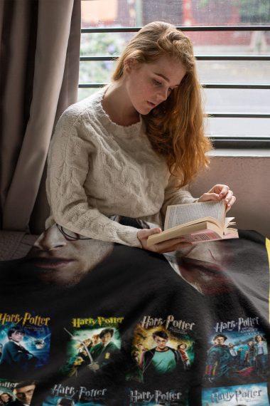 Harry Potter 7 Episodes Fleece Blanket 1