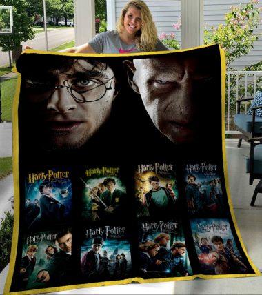 Harry Potter 7 Episodes Fleece Blanket