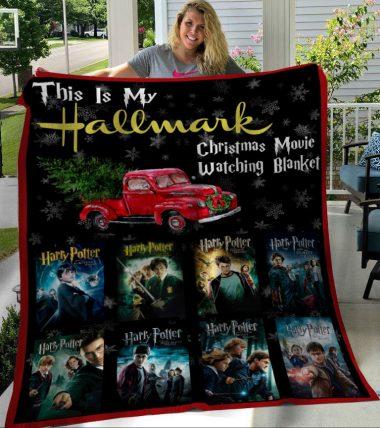 This Is My Hallmark Christmas Movies Watching Blanket Harry Potter Fleece Blanket